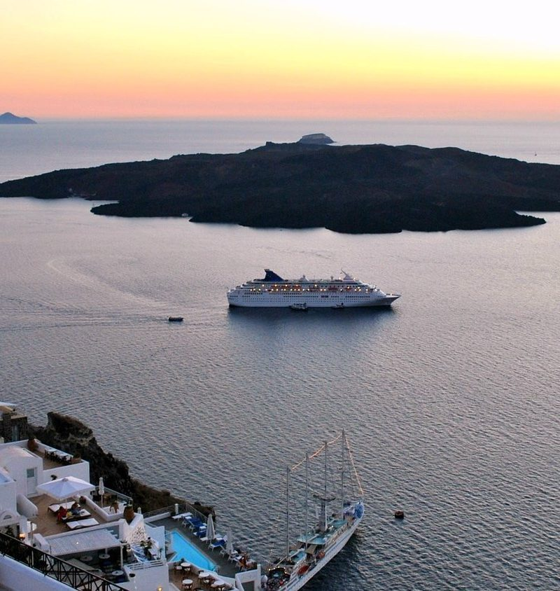 Santorini Greek island - Celestyal Olympia cruise ship - Cruises in Greece - Greek cruises - Greek Travel Packages - Cruise Greek islands - Travel to Greek islands - Tours in Greece - Travel Agency in Greece