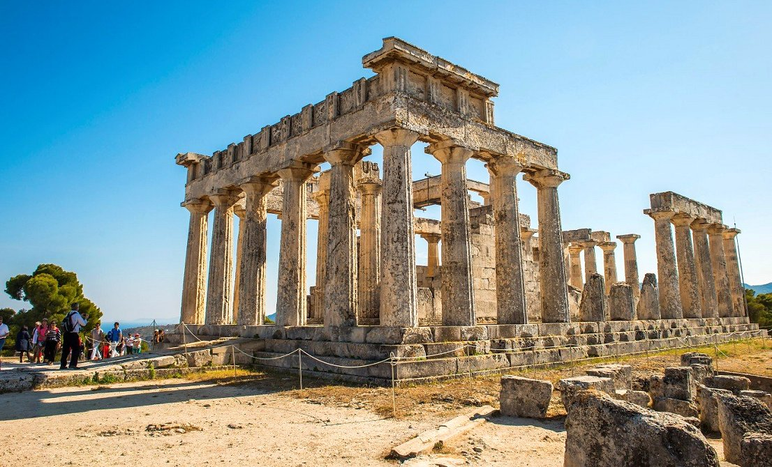 Temple of Afaia in Aegina island Greece - one-day cruise from Athens to 3 Greek islands - Athens one-day cruise - one-day cruise 3 islands Greece - Cruises in Greece - Greek cruises - Greek Travel Packages - Cruise Greek islands - Travel to Greek islands - Tours in Greece - Travel Agency in Greece