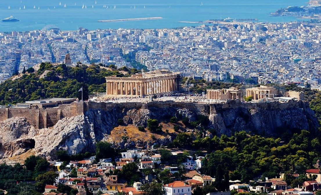 Acropolis and Parthenon - Athens city