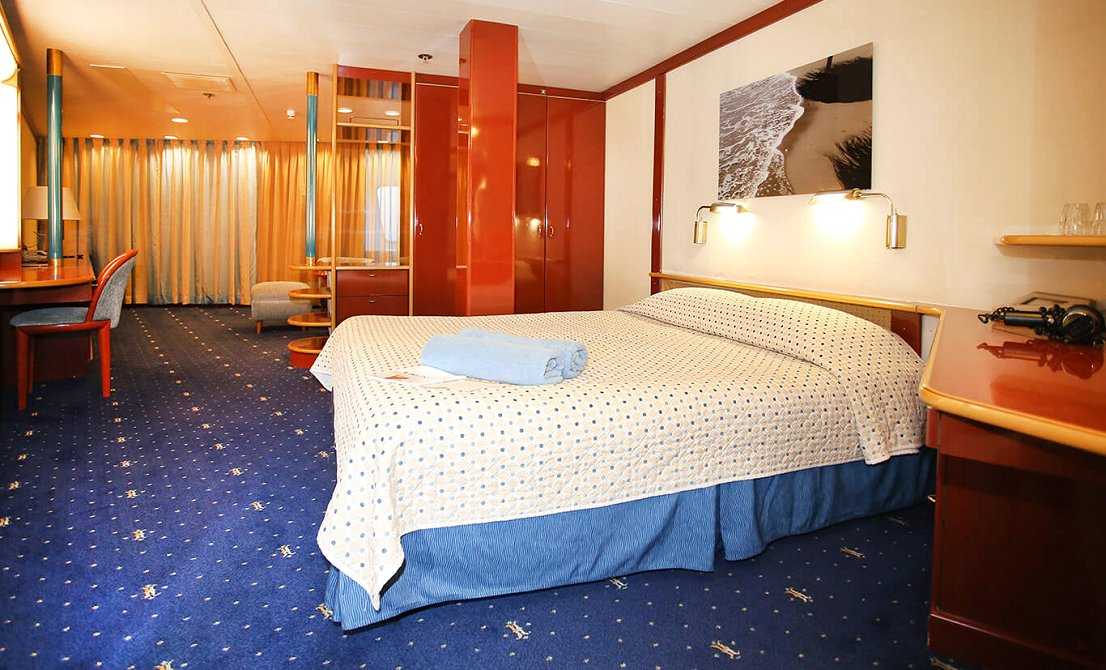 Celestyal Crystal - Category S suite with windows - 7-day cruise in Greece and Turkey - Cruises in Greece - Greek cruises - Greek Travel Packages - Cruise Greek islands - Travel to Greek islands - Tours in Greece - Atlantis Travel Agency in Athens Greece