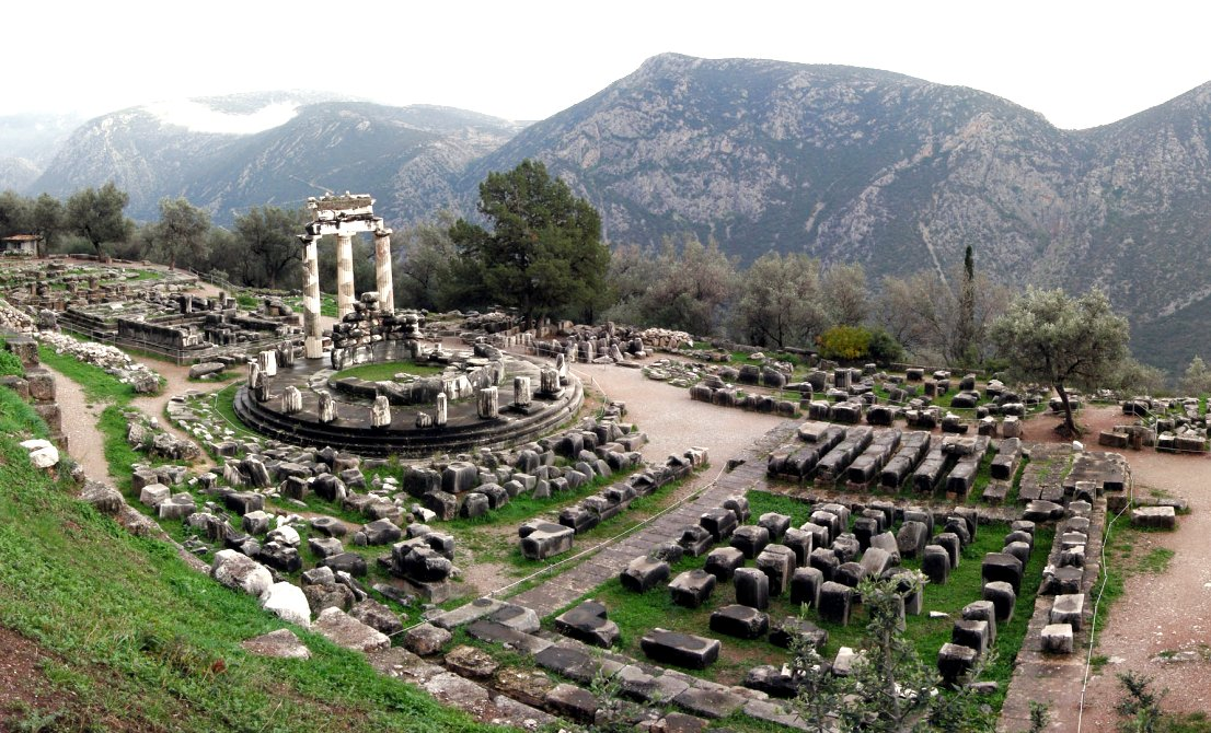 Delphi - Athena Pronea - ancient Delphi Greece - Greek Travel Packages - Greek tours - Travel to Greece - Tours in Greece - Travel Agency in Greece