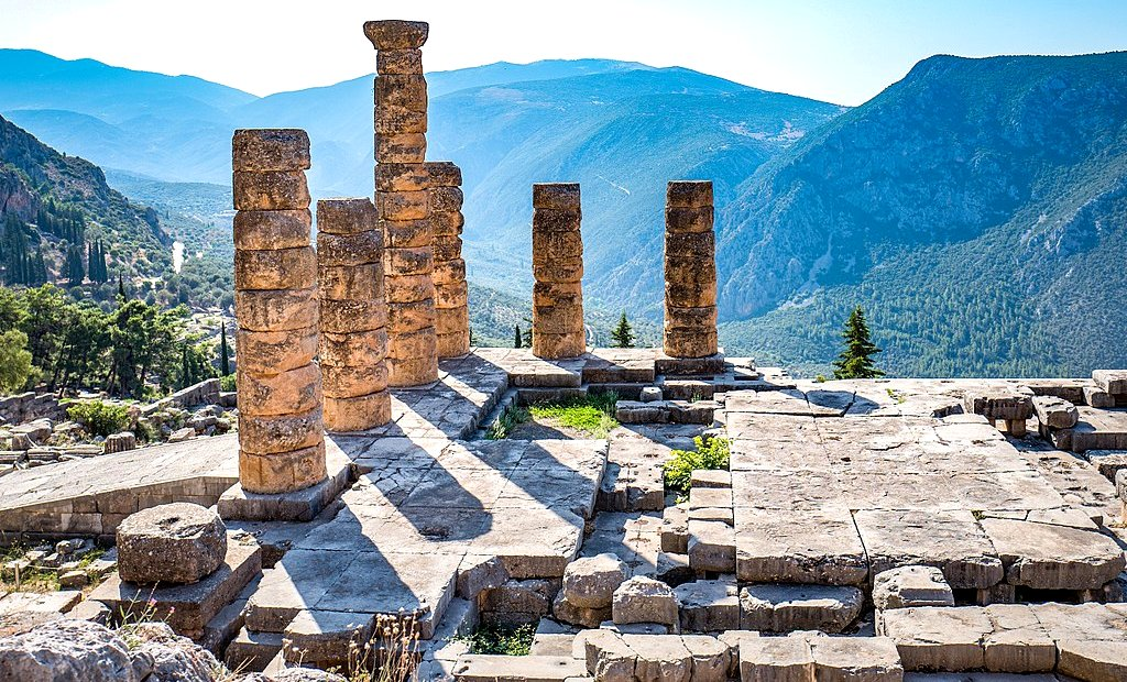 Delphi - Temple of Apollo - ancient Delphi Greece - Greek Travel Packages - Greek tours - Travel to Greece - Tours in Greece - Travel Agency in Greece