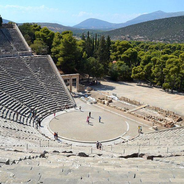 Epidaurus ancient theater - full-day tour to Argolis - Epidaurus Mycenae Nafplion - Corinth Canal- Greek Travel Packages - Travel to Greece - Tours in Greece - Travel Agency in Greece