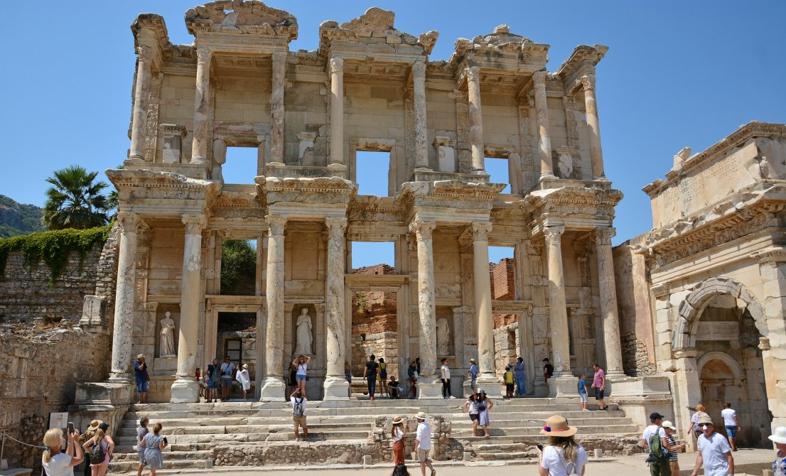 Kusadasi - Ancient Ephesus - Turkey - Cruises in Greece and Turkey - Greek cruises - Cruise Greek islands - Cruise Turkey - Travel to Greek islands and Turkey - Tours in Greece and Turkey - Travel Agency in Greece