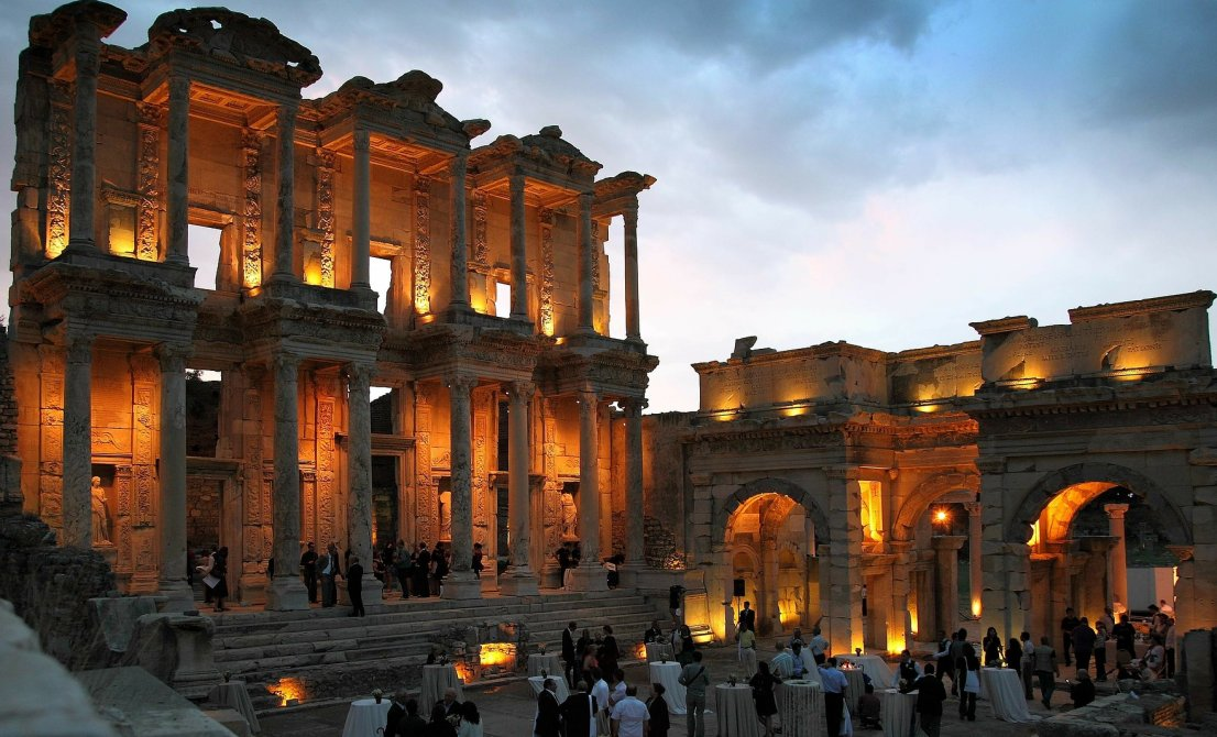 Kusadasi - Ephesus by night - Cruises in Greece and Turkey - Greek cruises - Cruise Greek islands - Cruise Turkey - Travel to Greek islands and Turkey - Tours in Greece and Turkey - Atlantis Travel Agency in Greece