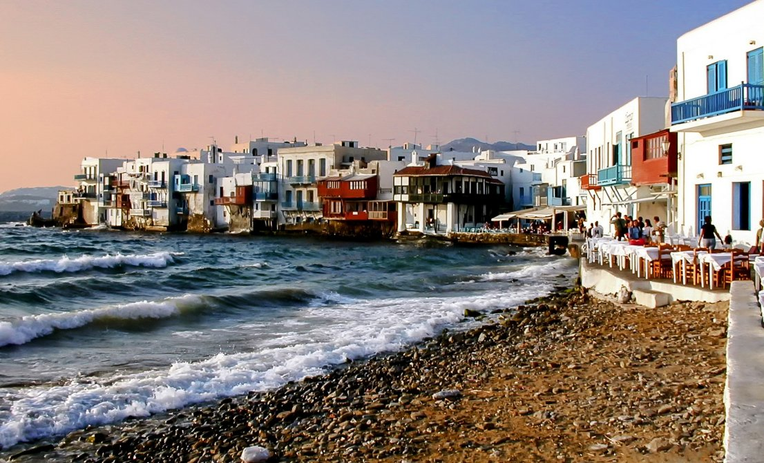 Mykonos island Greece - Little Venice - Cruise Greece and Turkey - Cruises in Greece - Greek cruises - Greek Travel Packages - Cruise Greek islands - Travel to Greek islands - Tours in Greece - Atlantis Travel Agency in Athens Greece