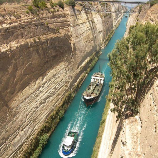 Corinth canal - full-day tour to Argolis - Epidaurus Mycenae Nafplion - Greek Travel Packages - Travel to Greece - Tours in Greece - Travel Agency in Greece