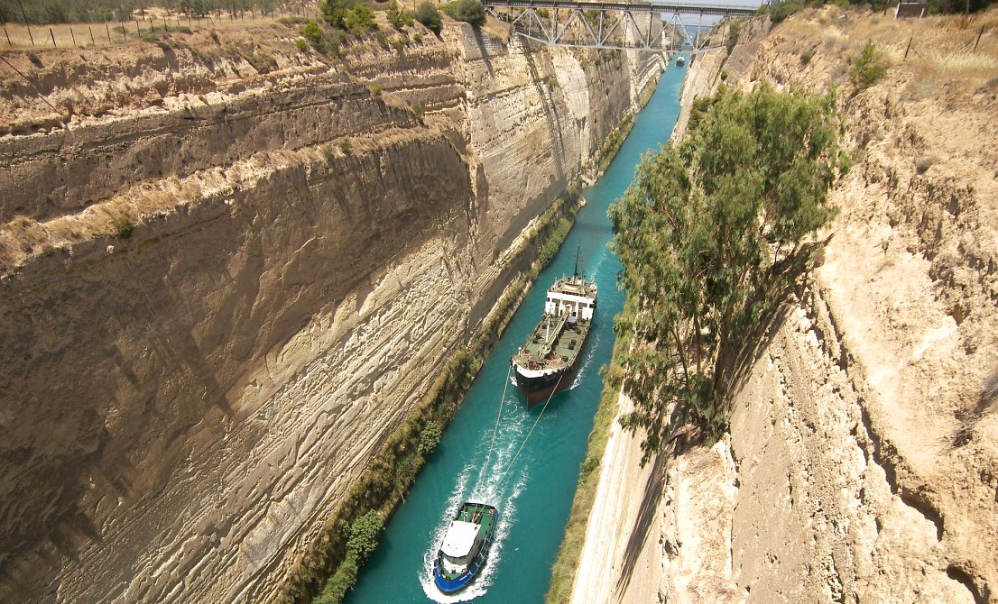Corinth canal - full-day tour to Argolis - Epidaurus Mycenae Nafplion - Greek Travel Packages - Travel to Greece - Tours in Greece - Travel Agency in Greece