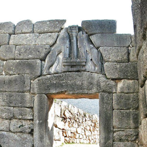 Mycenae - Lion's Gate - full-day tour to Argolis - Epidaurus Mycenae Nafplion - Corinth Canal- Greek Travel Packages - Travel to Greece - Tours in Greece - Travel Agency in Greece