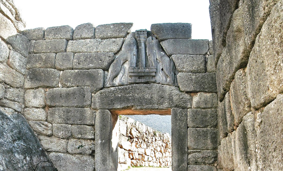 Mycenae - Lion's Gate - full-day tour to Argolis - Epidaurus Mycenae Nafplion - Corinth Canal- Greek Travel Packages - Travel to Greece - Tours in Greece - Travel Agency in Greece
