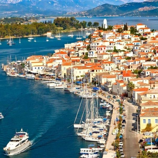 Poros - one-day cruise from Athens to 3 Greek islands - Hydra Poros Aegina - Athens one-day cruise - one-day cruise 3 islands Greece - Cruises in Greece - Greek cruises - Greek Travel Packages - Cruise Greek islands - Travel to Greek islands - Tours in Greece - Atlantis Travel Agency in Athens Greece