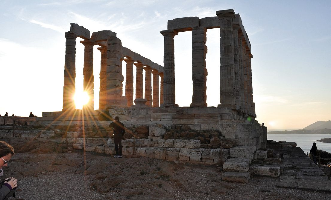 Cape Sounion - Temple of Poseidon - Greece