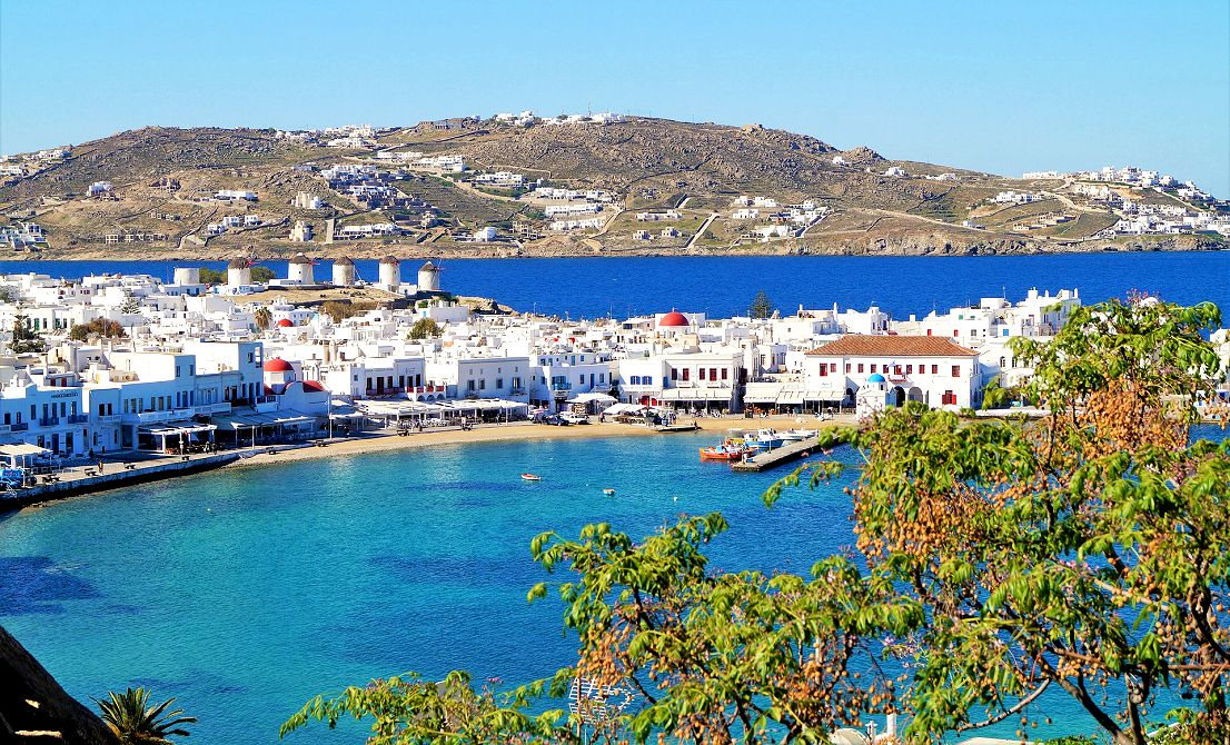 Mykonos old port - Cruises in Greece - Greek cruises - Greek Travel Packages - Cruise Greek islands - Travel to Greek islands - Tours in Greece - Travel Agency in Greece