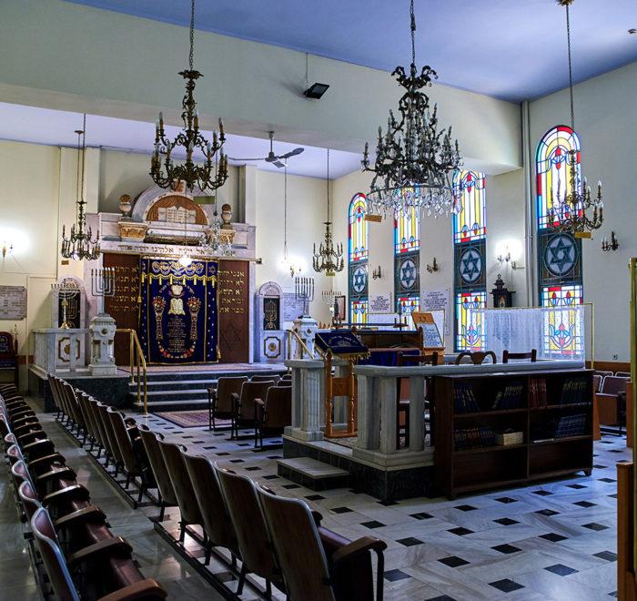 Thessaloniki Lezicaron Synagogue - Jewish tour of Thessaloniki Greece - Thessaloniki Jewish Tour - Greek Jewish tours in Greece - Jewish Greek travel packages in Greece - Atlantis Travel Agency in Greece