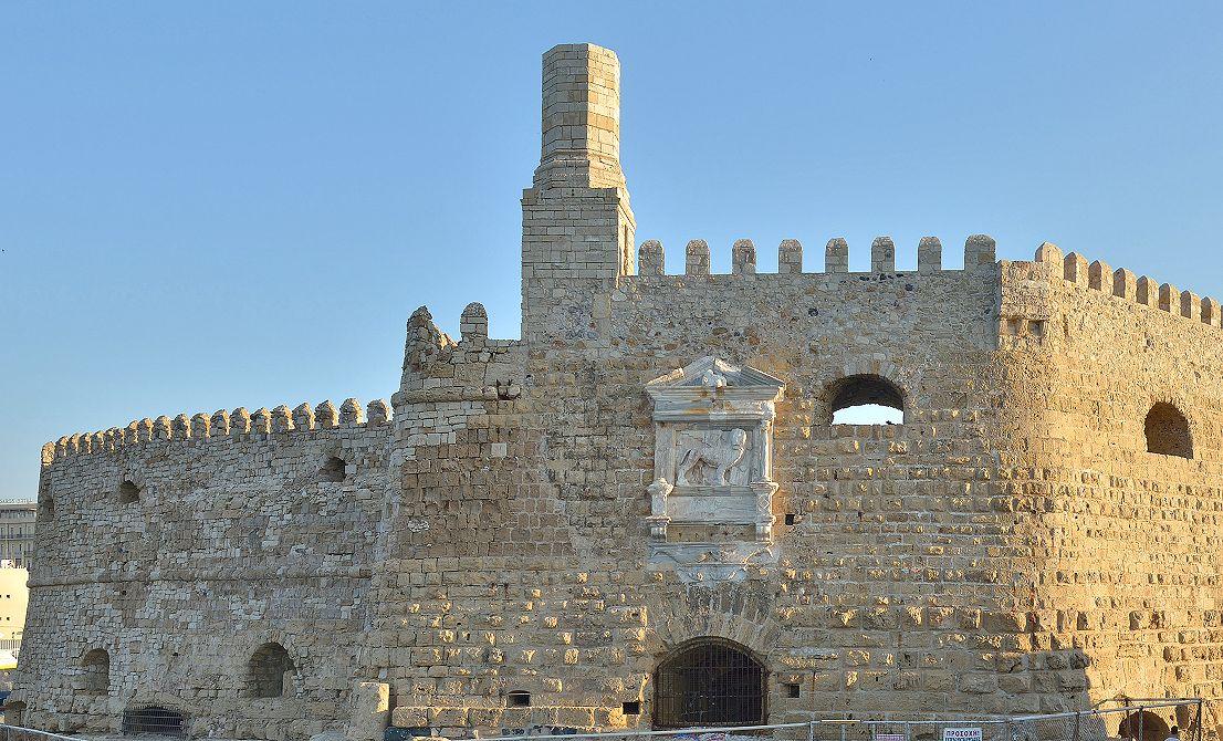 Venetian fortress in Heraklion - Crete island Greece - Cruises in Greece - Greek cruises - Greek Travel Packages - Cruise Greek islands - Travel to Greek islands - Tours in Greece - Travel Agency in Greece
