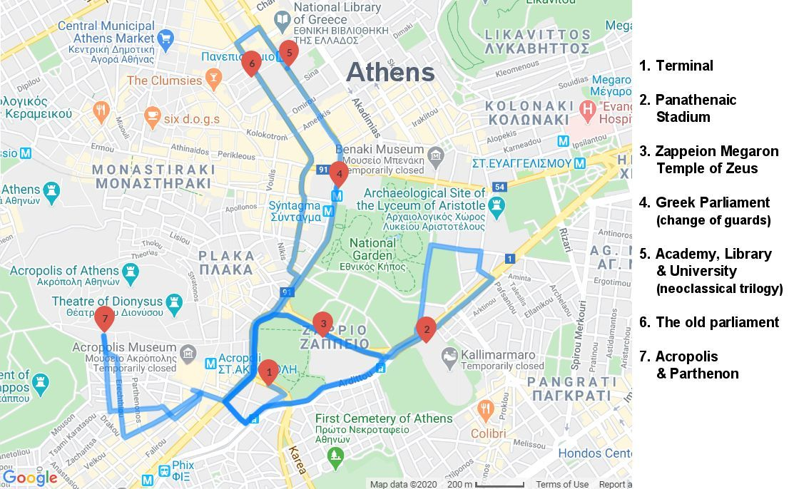 Athens Sightseeing Tour - Acropolis - Parthenon - Museum of Acropolis - Athens half-day tour - Greek Travel Packages - Travel to Meteora Greece - Tours in Greece - Travel Agency in Greece