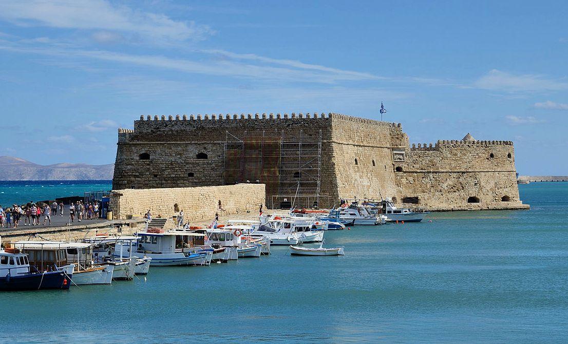 Heraklion old port - Crete Greek island - Cruises in Greece - Greek cruises - Greek Travel Packages - Cruise Greek islands - Travel to Greek islands - Tours in Greece - Travel Agency in Greece