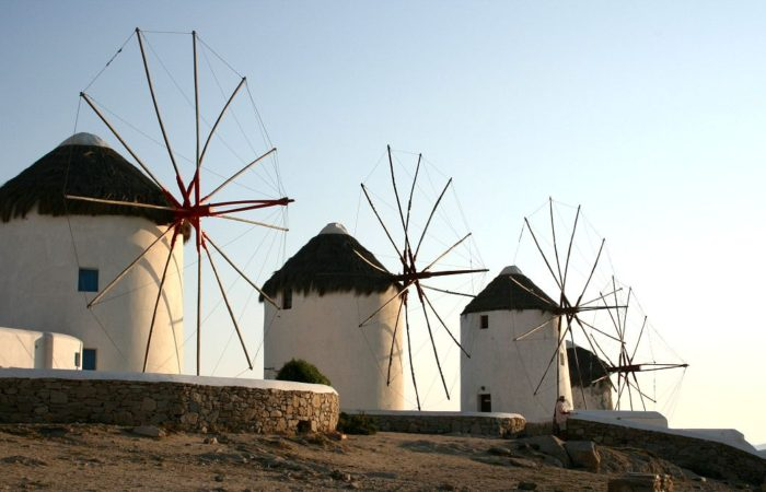 Mykonos windmills - Cruises in Greece - Greek cruises - Greek Travel Packages - Cruise Greek islands - Travel to Greek islands - Tours in Greece - Travel Agency in Greece