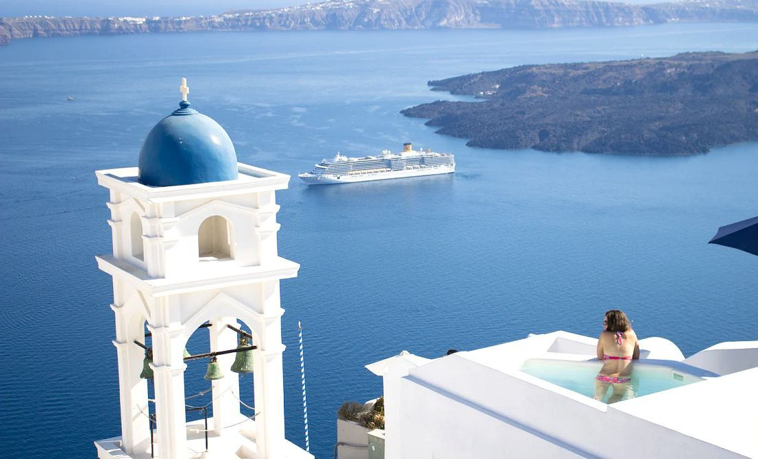 Santorini Greek island - Cruises in Greece - Greek cruises - Greek Travel Packages - Cruise Greek islands - Travel to Greek islands - Tours in Greece - Travel Agency in Greece