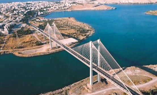 Chalkida bridge