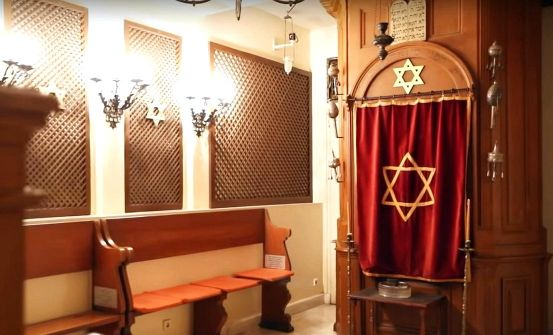 Part of an old Synagogue at the Jewish Museum of Athens