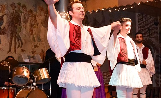 Athens Traditional Taverna with Greek singing, dancing and show